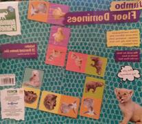 Animal Planet Jumbo Floor Dominoes