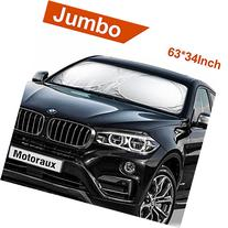 Jumbo Multifunctional Car Windshield Sunshade,Picnic Nap,Snow/Frost Blocking,Sunlight Max Reflectable
