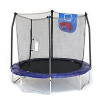 Skywalker Trampolines Jump N' Dunk Trampoline with Safety