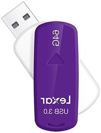 JumpDrive S35 64GB USB 3.0 Flash Drive - Purple