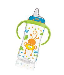 NUK Jungle Designs Large Learner Cup in Patterns, Boy, 10-