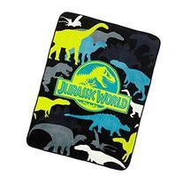 "Universal's Jurassic World ""Prehistoric"" 46"" x 60"" Twin"