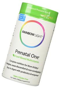 Rainbow Light Just Once Prenatal One Multivitamin