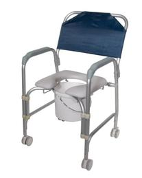 Drive Medical K. D.  Aluminum Shower Chair/Commode with