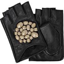 Karl Lagerfeld K/Geo Stones Fingerless Gloves