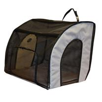K&H Travel Safety Carrier - Gray - 25.5 in. x 22 in. x 29.5