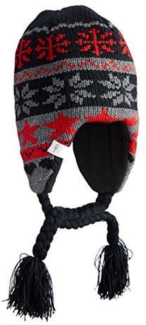 Scream Boys Let It Snow Hat - Black/Red
