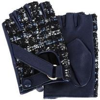 Karl Lagerfeld K/Tweed Fingerless Gloves
