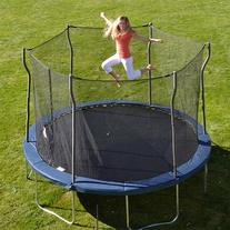 Kinetic Trampolines K12-6BE Trampoline with Enclosure, Blue
