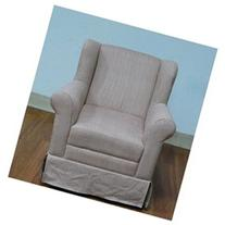 4D Concepts K3837-A192 Girls Wingback Chair -Striped