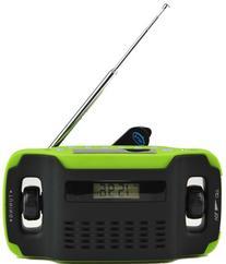 Kaito KA300 Solar/Hand Crank AM/FM Emergency Radio with