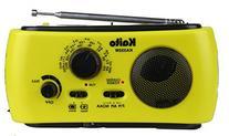 Kaito KA332W Portable Hand Crank Solar AM/FM NOAA Weather