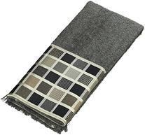 Avanti Linens Kaleidoscope Fingertip Towel, Granite