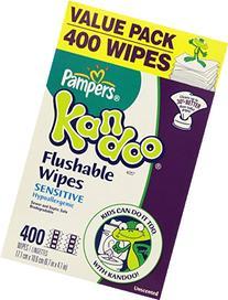 Pampers Kandoo Flushable Toilet Wipes, 2 packs, Sensitive