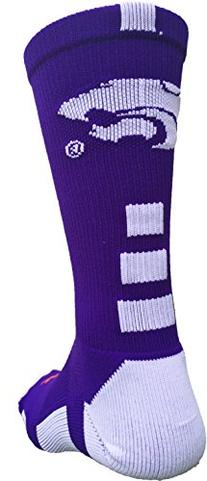 Kansas State Wildcats Baseline 2.0 Crew Socks