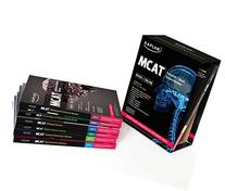 Kaplan MCAT Complete 7-Book Subject Review Created for MCAT