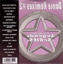 LEGENDS Karaoke CDG DANCE REMIXES #2 Music CD
