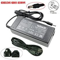 Kastar LCD AC Adapter 12V 6A with 3-Prong Power Cord Power