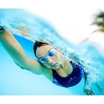 Aqua Sphere Women's Kayenne Clear Lens Swim Goggles -