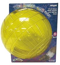 """Kaytee Run-about 7"""" Exercise Ball, Dazzle, Colors Vary"""