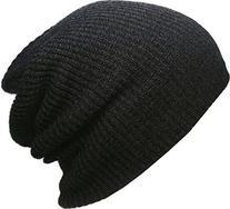 KBW-10 BLK Heather Slouchy Beanie Skull Cap Hat