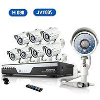 Zmodo KDC8-YARUZ8ZN 8-Channel H.264 960H DVR Security System