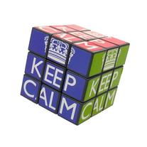 Keep Calm Cube Puzzle
