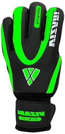 Vizari Pro Keeper F.R.F Glove, Black/Neon Green, Size 7