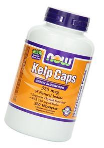 Kelp - 325 mcg of natural iodine