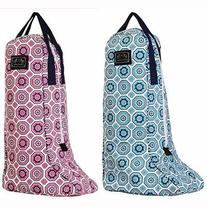 Equine Couture Women's Kelsey Boot Bag, Aqua, Standard