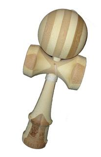 5K Kendama - Natural Bamboo, Extra String Included