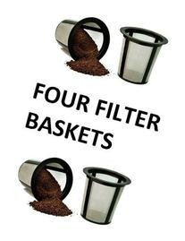 4 X Keurig Cuisinart One All My K-Cup Reusable Coffee FILTER
