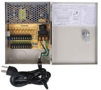 VideoSecu Key Lock 9 Output 12 V DC CCTV Distributed Power