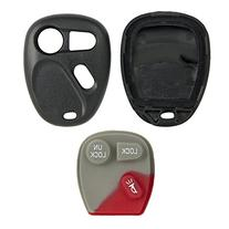 New Key Shell Remote Case For Gm Gmc Chevy Keyless Entry