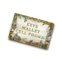 Keys,wallet,cell phone.funny quotes design non-woven fabric