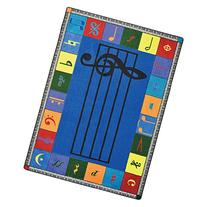 Joy Carpets Kid Essentials Music & Special Needs Elementary