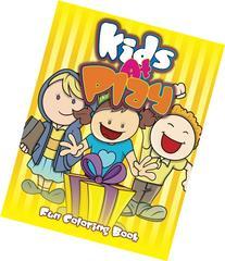 Kids At Play Fun Coloring Book