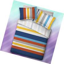 Qbedding Kids' Series 100% Cotton Duvet Cover + Pillow Sham
