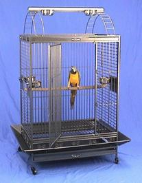"""Kilauea Kastle Playtop Bird Cage - 40"""" X 30"""" X 73"""" -"""