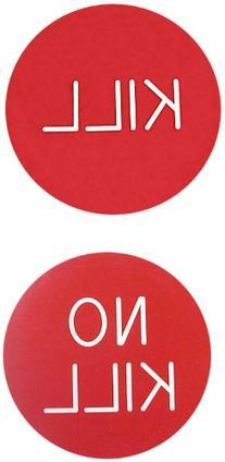 Trademark Poker Kill / No Kill Button for Poker Game Dealer