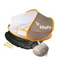 kilofly Instant Pop Up Portable UPF 35+ Baby Travel Bed +
