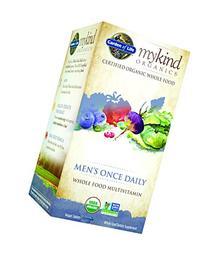 Garden of Life Organic Multivitamin Supplement for Men -