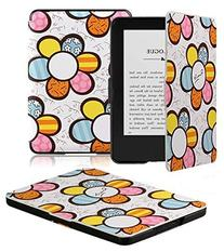 Kindle Case - OMOTON Smart Case Cover for All-new Kindle ,