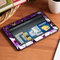 All New Kindle Fire HD Decal/Skin Kit, Violet Worlds