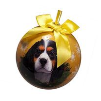 King Charles Christmas Ornament Shatter Proof Ball Easy To