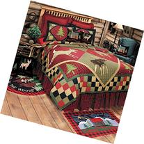 "64"" x 86"" Twin Quilt, Lodge"