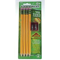 Dixon Ticonderoga 33309 Large Size Pencil Kit With Sharpener