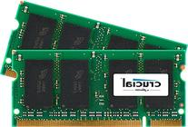 Crucial 2GB Kit  DDR2 667MHz  CL5 SODIMM 200-Pin Notebook