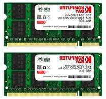 Komputerbay 4GB Kit  DDR2 800MHz  CL6 SODIMM 200-Pin 1.8v