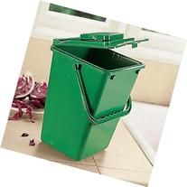 Large Kitchen Compost Bucket: 2.5 Gallon Compost Bin